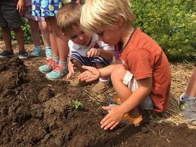 Garden Explorers Camp: Down in the Dirt-Age 4-6