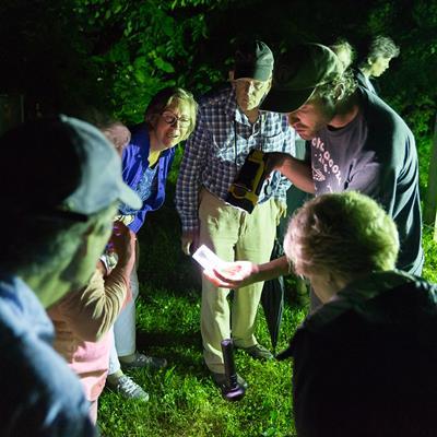 Moth Night with The Caterpillar Lab