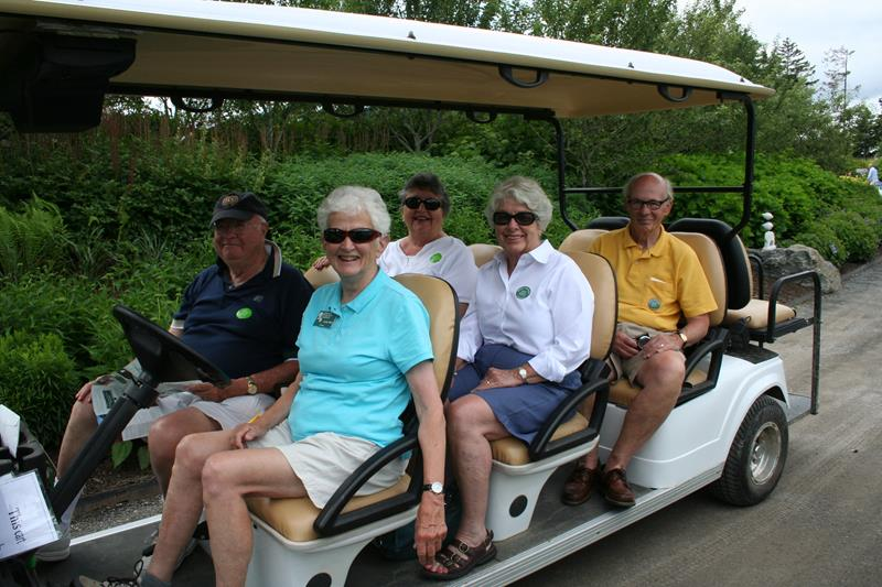 Wednesday Accessible Cart Tour