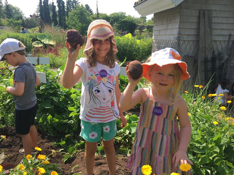 Garden Explorers Camp for Ages 4-7